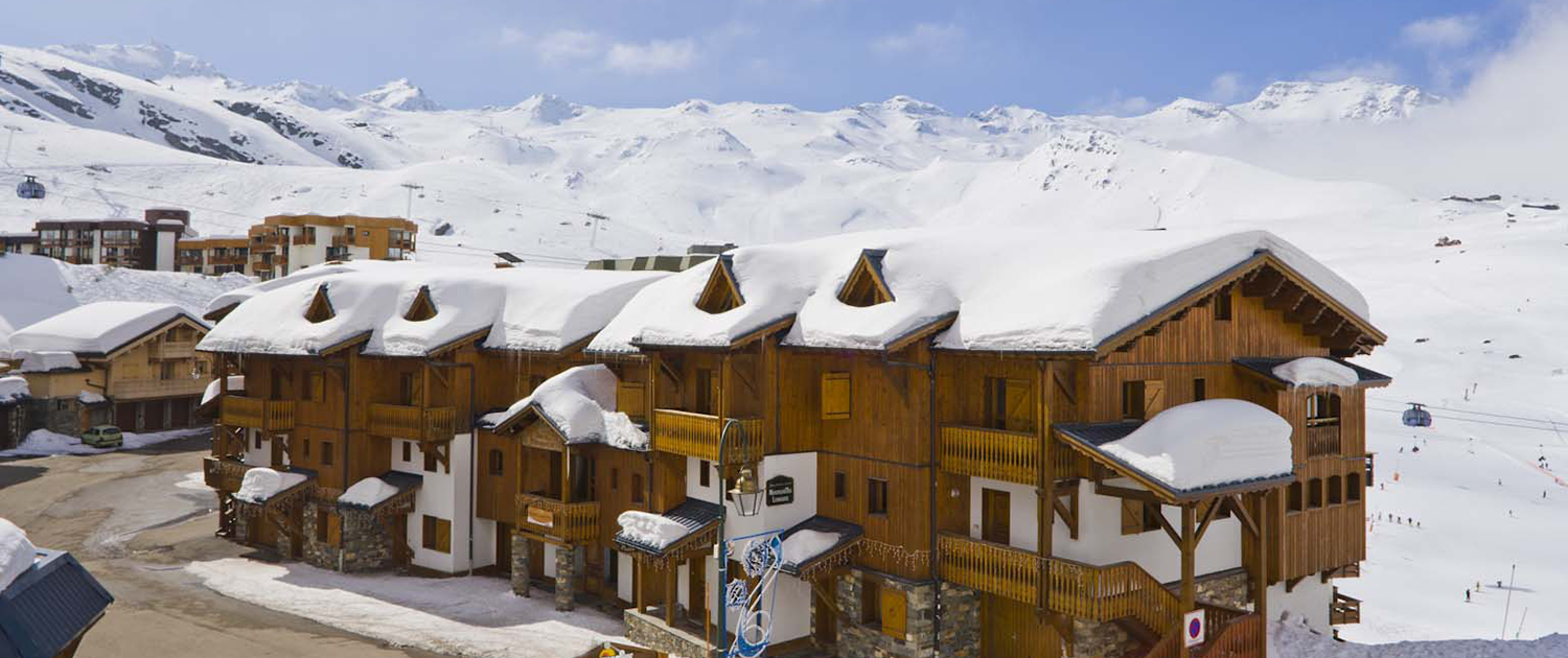 Chalet Montagnettes Lombarde in Val Thoens